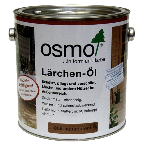 osmo l rchen l 009 naturget nt seidenmatt 2 5ltr homecenterla shop. Black Bedroom Furniture Sets. Home Design Ideas