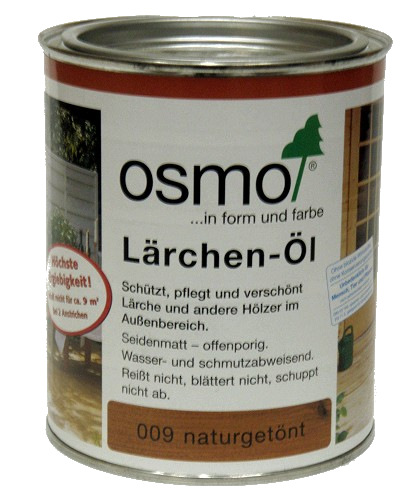 osmo l rchen l 009 naturget nt seidenmatt 750ml. Black Bedroom Furniture Sets. Home Design Ideas