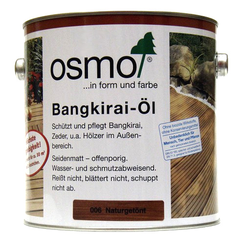 osmo bangkirai l 006 naturget nt seidenmatt 2 5ltr homecenterla shop. Black Bedroom Furniture Sets. Home Design Ideas