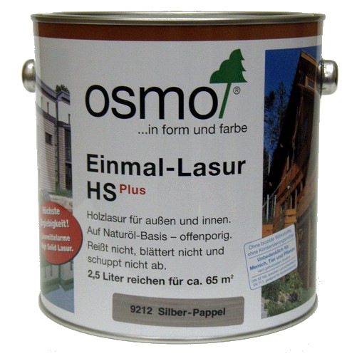 osmo einmal lasur hs plus 2 5ltr homecenterla shop. Black Bedroom Furniture Sets. Home Design Ideas