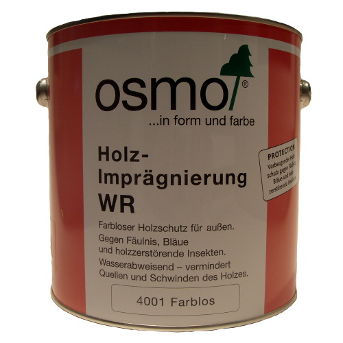osmo holz impr gnierung wr 4001 farblos 2 5ltr homecenterla shop. Black Bedroom Furniture Sets. Home Design Ideas